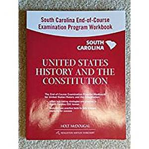 Holt McDougal the Americans South Carolina: End-Of-Course Test Prep Workbook