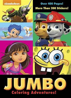 Jumbo Coloring Adventures! (Nickelodeon)