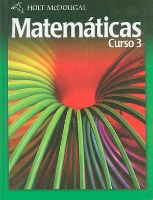 Holt McDougal Matematicas, Curso 3