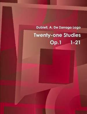 Twentyone Studies Op.1 1-21