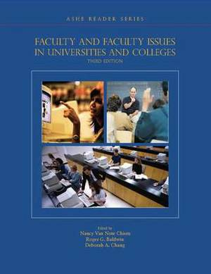 Faculty & Faculty Issues in Colleges and Universities