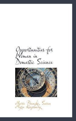 Opportunities for Women in Domestic Science
