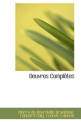 Oeuvres Completes