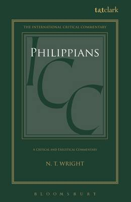 Philippians: A Critical and Exegetical Commentary