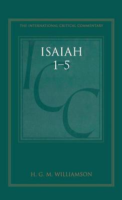 Isaiah 1-5: A Critical and Exegetical Commentary