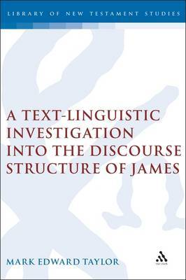 Text-Linguistic Investigation into the Discourse Structure of James