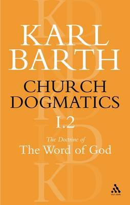 Church Dogmatics Classic Nip I.2