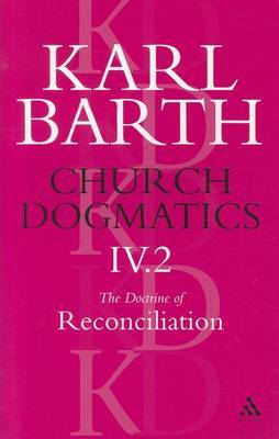 Church Dogmatics Classic Nip IV.2