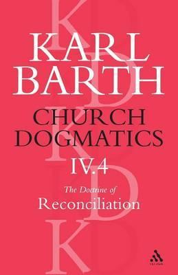 Church Dogmatics Classic Nip IV.4