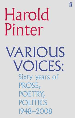 Various Voices: Prose, Poetry, Politics, 1948-2008
