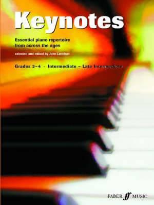 Keynotes: Piano Grades 3-4