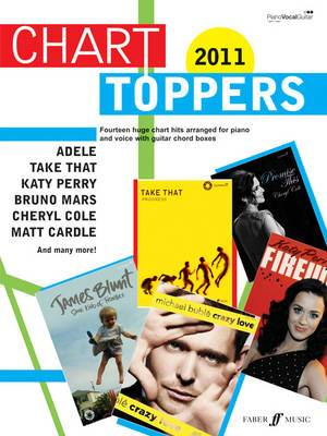 Chart Toppers, 2011: Piano/voice/guitar