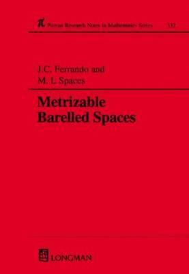 Metrizable Barrelled Spaces