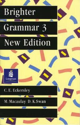 Brighter Grammar: Bk.3