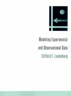 Modeling Experimental and Observational Data