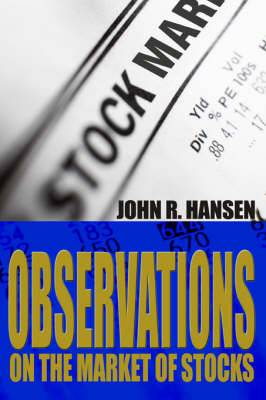 Observations on the Market of Stocks