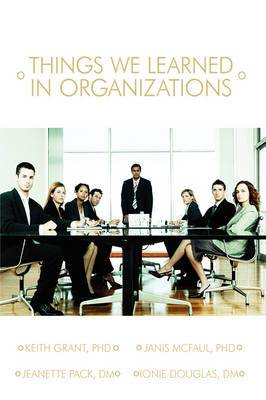 Things We Learned in Organization