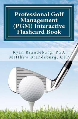 Professional Golf Management (Pgm) Interactive Flashcard Book (2nd Edition)