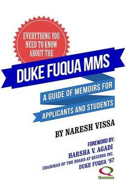 Everything You Need to Know about the Duke Fuqua Mms: A Guide of Memoirs for Applicants and Students