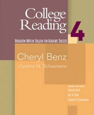 College Reading 4: English for Academic Success