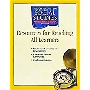 Houghton Mifflin Social Studies: Assessment Options Blackline Masters Level 4 States and Regions