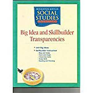 Houghton Mifflin Social Studies: Bigi&skb Trans L1 Schol&fam School and Family