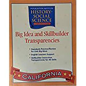 Houghton Mifflin Social Studies California: Big Idea & Skb Transp L2