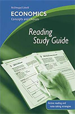 Economics: Concepts and Choices: Reading Study Guide
