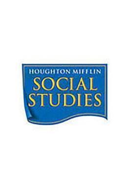 Houghton Mifflin Social Studies: Big Book Level K My World 2008