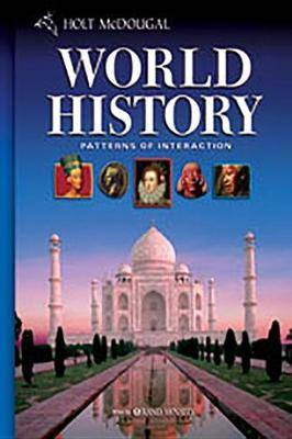 McDougal Littell World History: Patterns of Interaction New Jersey: Student Edition Grades 9-12 2008