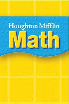 Houghton Mifflin Math Spanish Texas: Math Reader; Txc10
