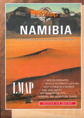 Namibia: Highly Detailed GPS Road Map