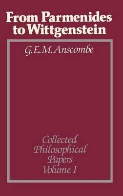 From Parmenides to Wittgenstein