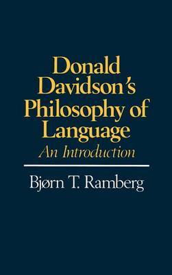 Donald Davidson's Philosophy of Language: An Introduction
