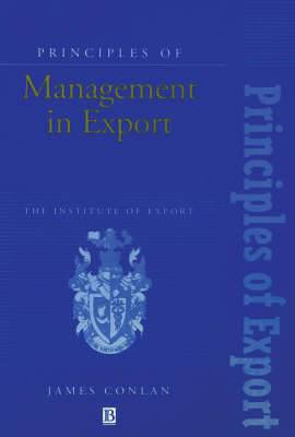 Principles of Management in Export
