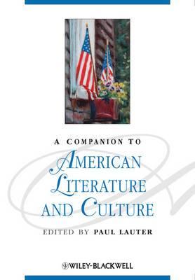 A Companion to American Literature and Culture