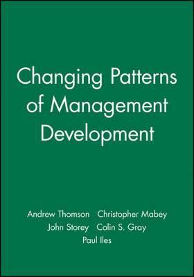 Changing Patterns of Management Development