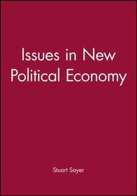 Issues in New Political Economy