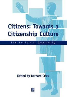 Citizens: Towards a Citizenship Culture