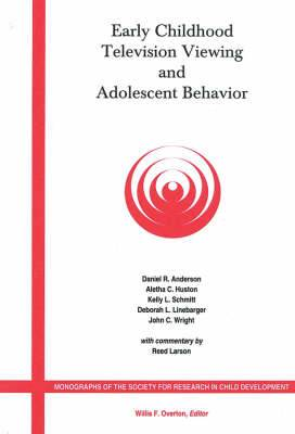 Early Childhood Television Viewing and Adolescent Behavior, Volume 66, Number 1