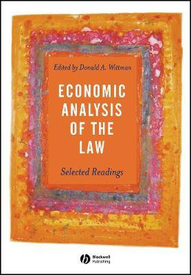 An Economic Analysis of the Law: Selected Readings