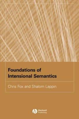 Foundations of Intensional Semantics