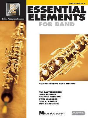 Essential Elements for Band: Comprehensive Band Method : Oboe Book 1