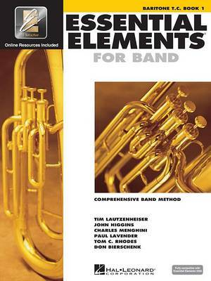 Essential Elements for Band: Comprehensive Band Method, Baritone T. C. Book 1