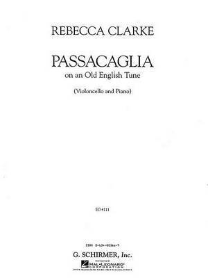 Passacaglia: On an Old English Tune