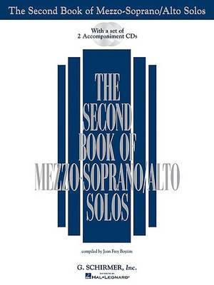 The Second Book of Mezzo-Soprano/Alto Solos (Book/2CDs)