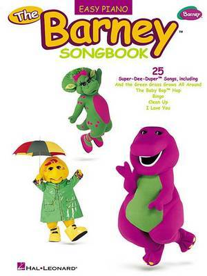 The Barney Songbook: Easy Piano
