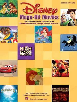 Disney Mega Hit Movies: Easy Piano