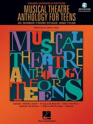 Musical Theatre Anthology For Teens: Young Women's Edition (Book/Online Audio)