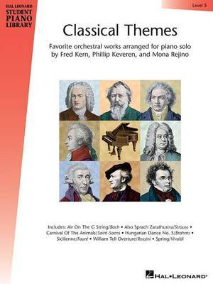 Classical Themes - Level 5: Hal Leonard Student Piano Library